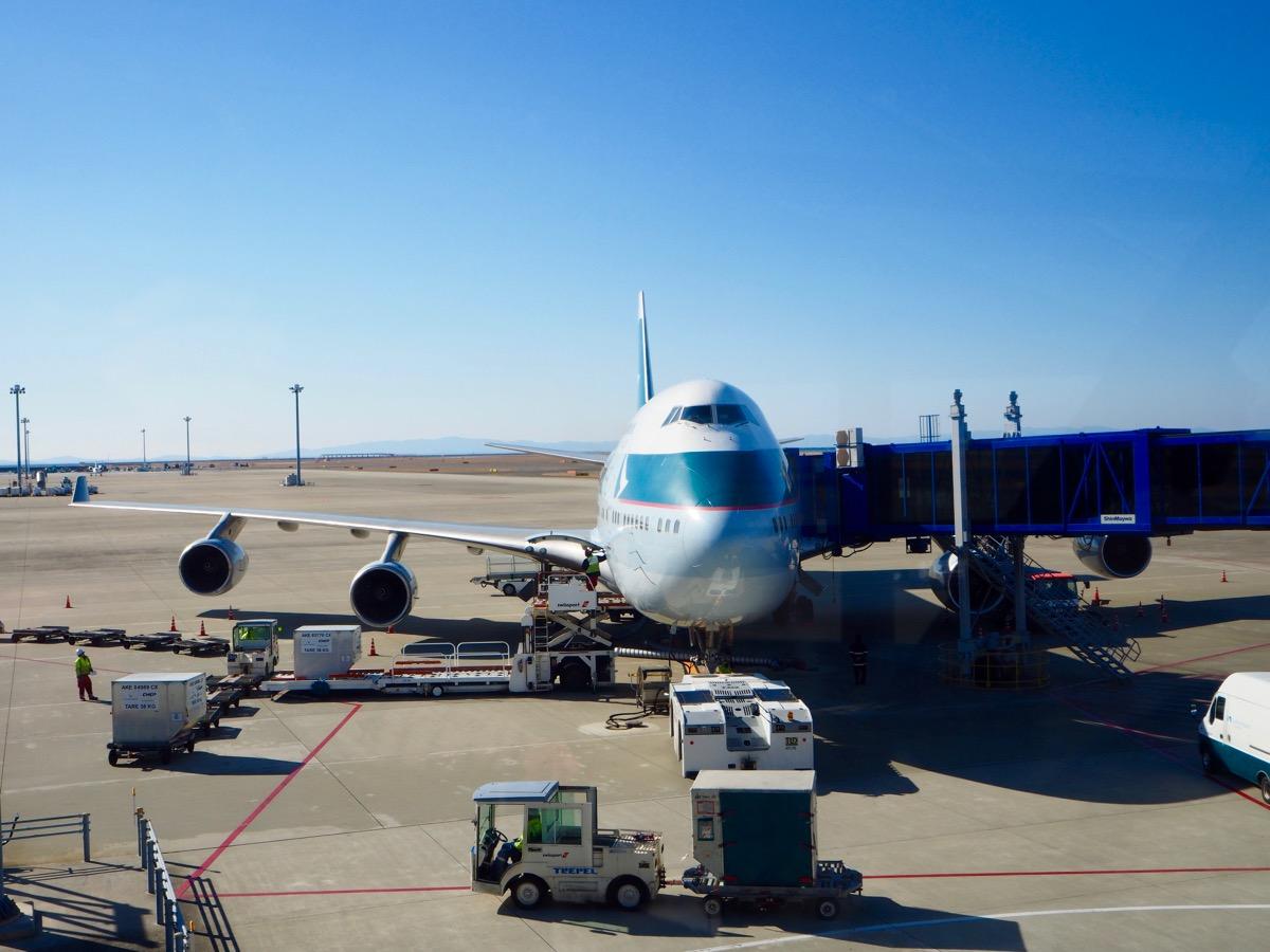 キャセイパシフィック航空 CX533便 名古屋-香港線 最後のB747運航便(?)ビジネスクラス搭乗記
