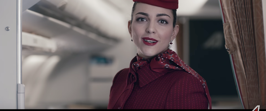 アリタリア航空 Made of Italy: live the new Alitalia experience!