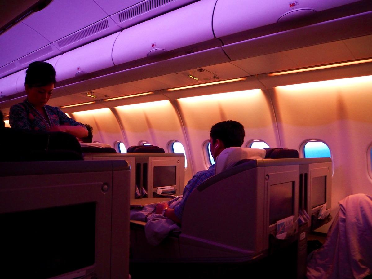 マレーシア航空 MH66便 クアラルンプール→ソウル ビジネスクラス搭乗記