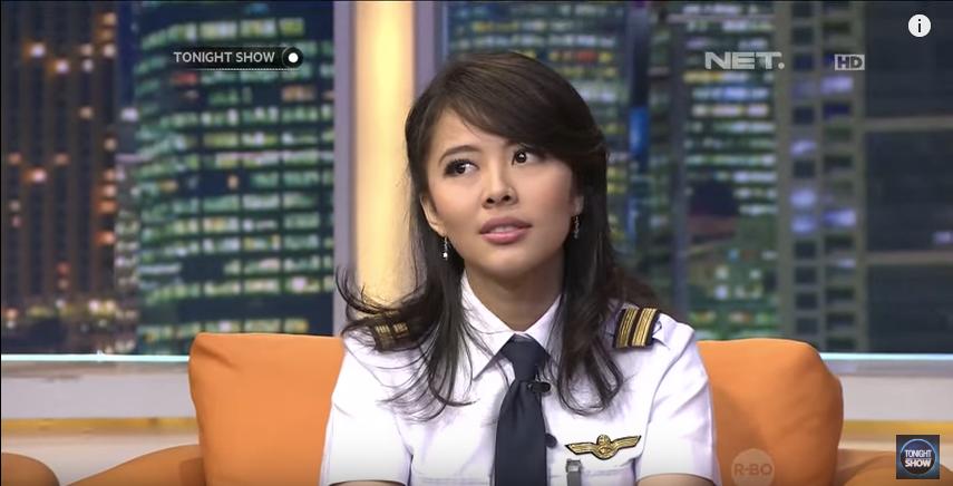ガルーダインドネシア航空の美人過ぎるパイロット!