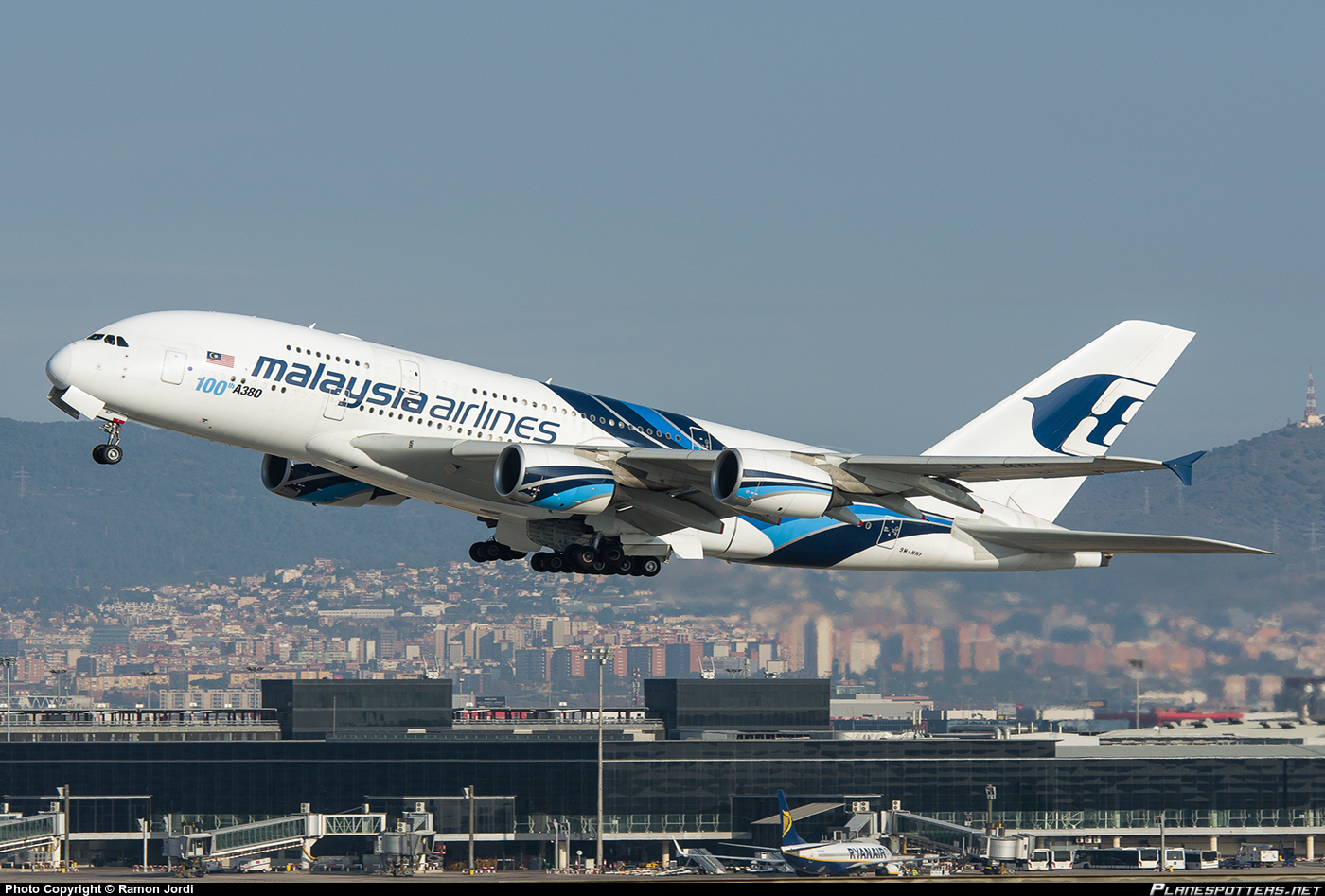 マレーシア航空エアバスA380 2018年までに全て退役へ