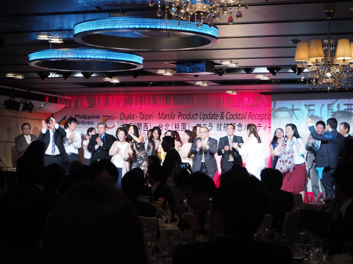 フィリピン航空 関空=台北=マニラ線 就航記念パーティに参加してきた!