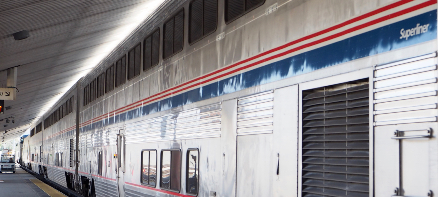 Amtrak コースト・スターライト号 乗車記 Los Angeles Union Station編
