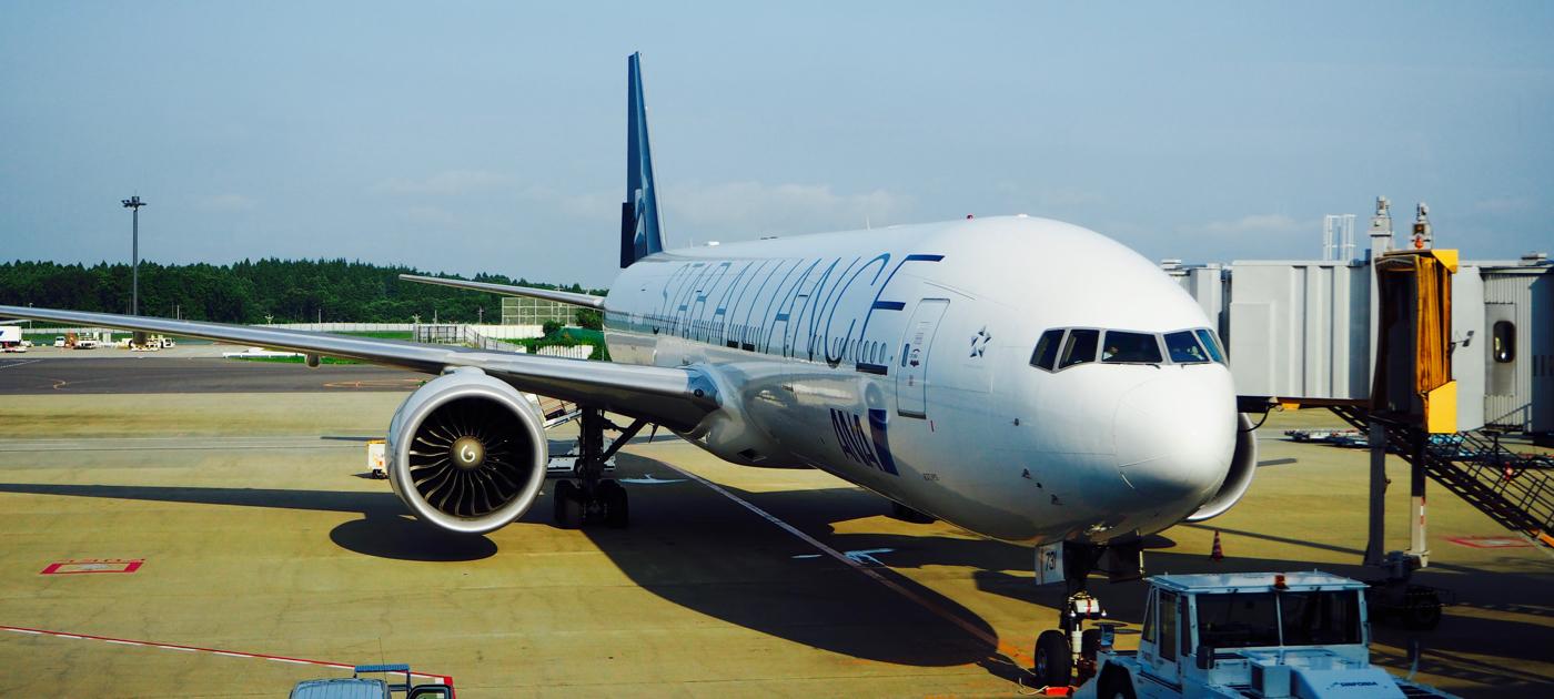 ANA NH008便 成田→サンフランシスコ ファーストクラス搭乗記1