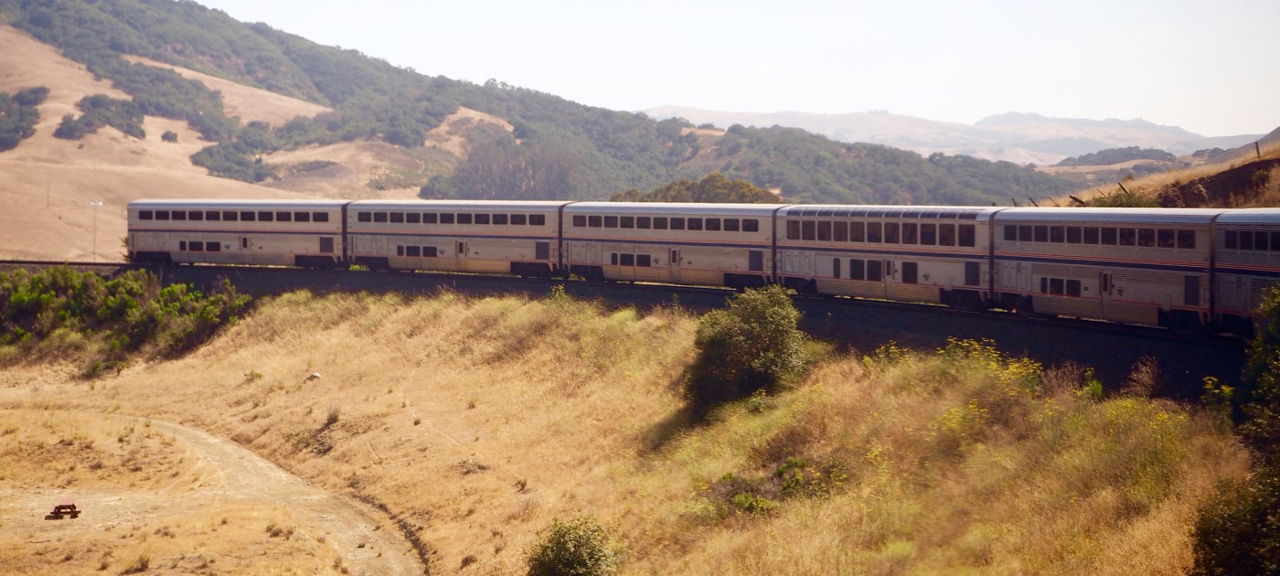 Amtrak コースト・スターライト号乗車記 Day1-2 San Luis Obispo→Oakland