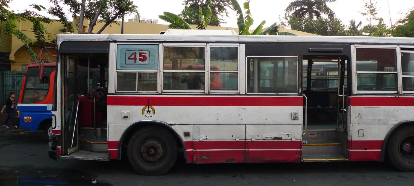 ジャカルタを走る日本の中古路線バス画像まとめ(名鉄、都営、京王、JRバス、名古屋市営など)