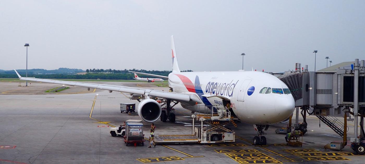 マレーシア航空 ビジネスクラス MH360便 クアラルンプール→北京 搭乗記