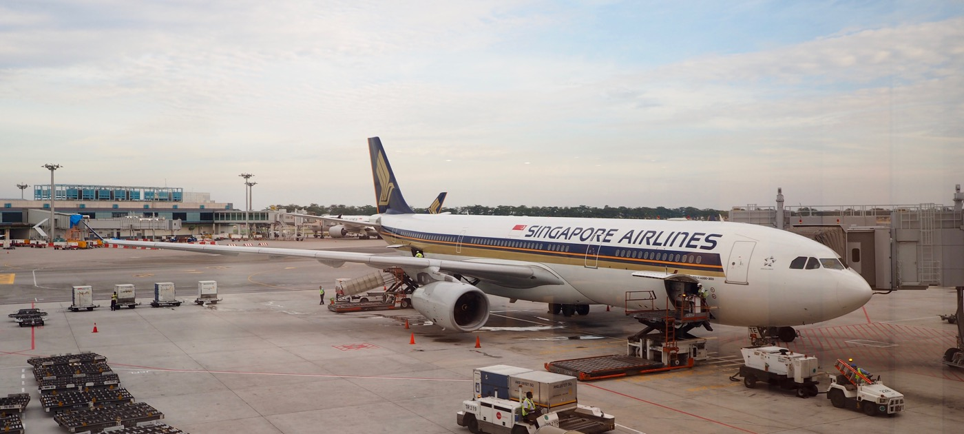シンガポール航空 エアバスA330-300 ビジネスクラス SQ978便 シンガポール→バンコク 搭乗記