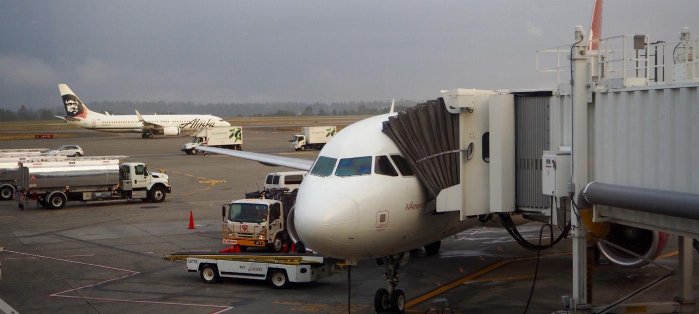 ヴァージンアメリカ VX751便 シアトル→サンフランシスコ ファーストクラス搭乗記