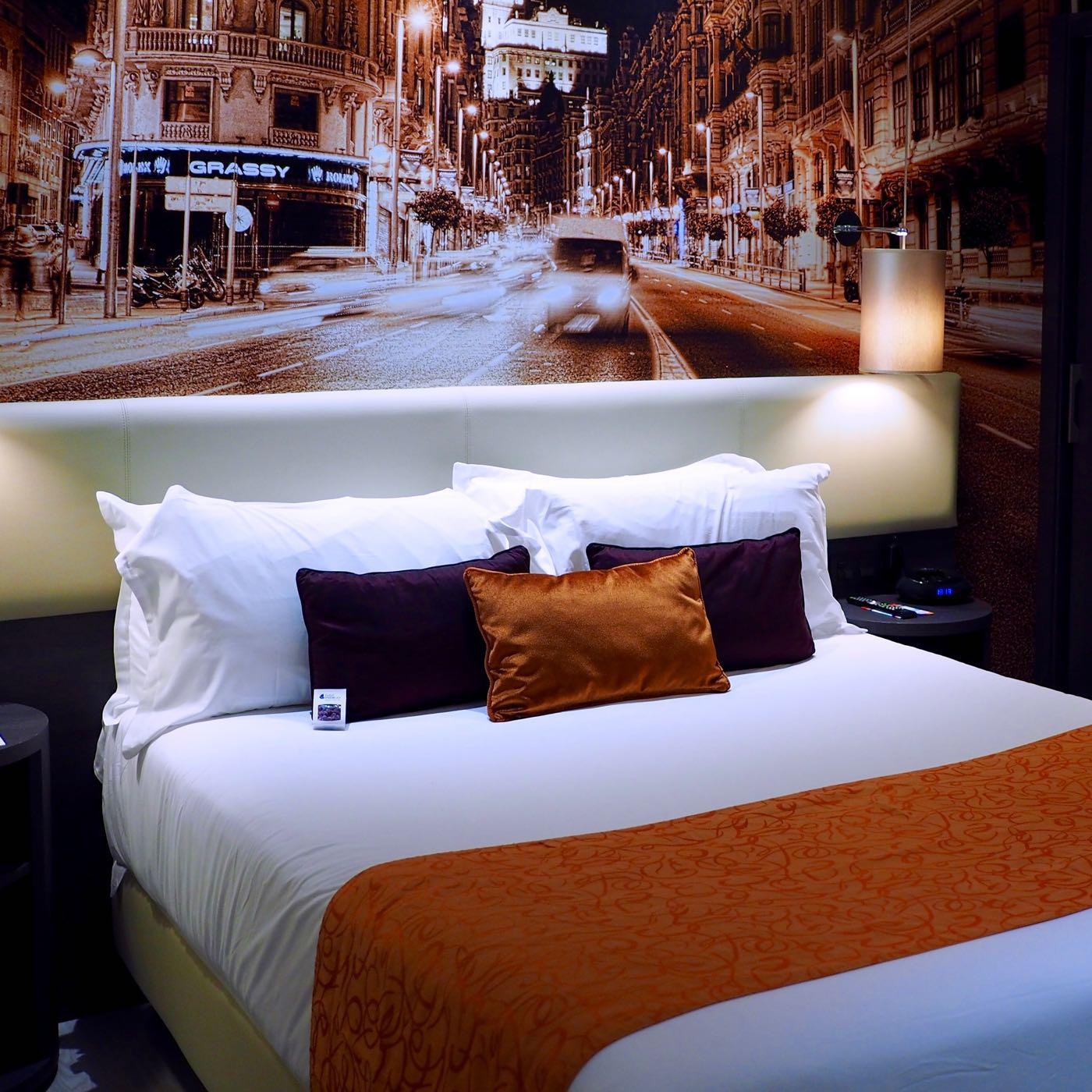 マドリード都心のお手頃IHGホテル Hotel Indigo Madrid Gran Via 宿泊記