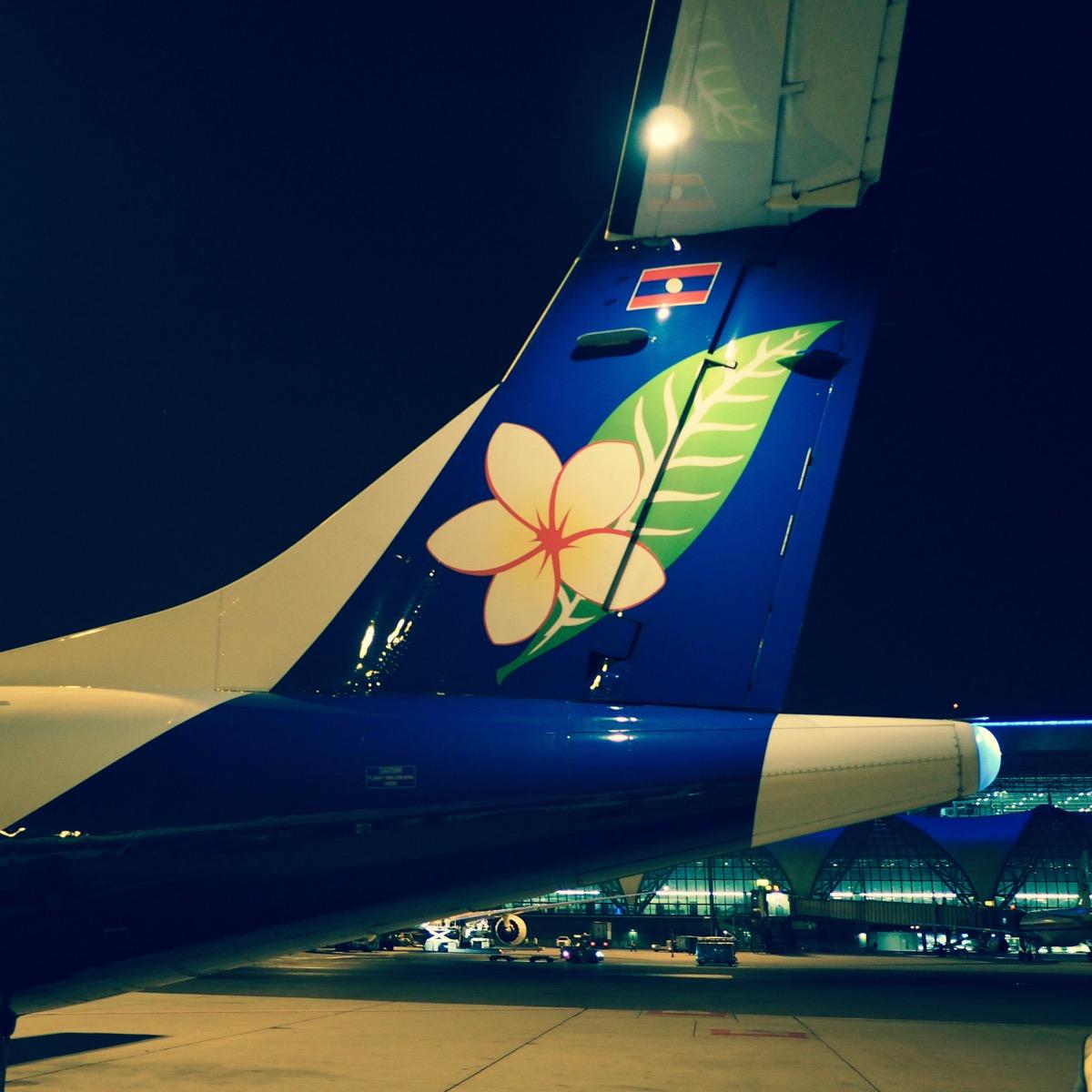 ラオス航空446便 バンコク→ビエンチャン ATR72-600 エコノミークラス搭乗記