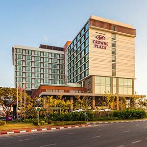 できたてホヤホヤの外資系高級ホテル クラウンプラザ・ヴィエンチャンホテル 宿泊記