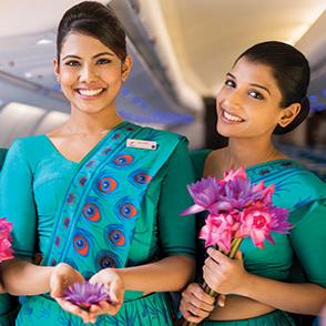 【約11万円で560TP獲得可能】ジャカルタ発中東行きスリランカ航空ビジネスクラスが安い!